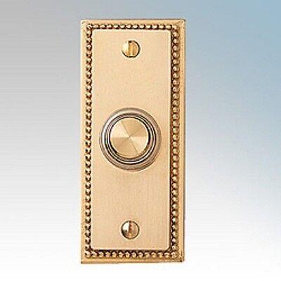 Friedland Illunminated Wired Solid Brass Door Bell Chime Push Buzzer Trendy 5776
