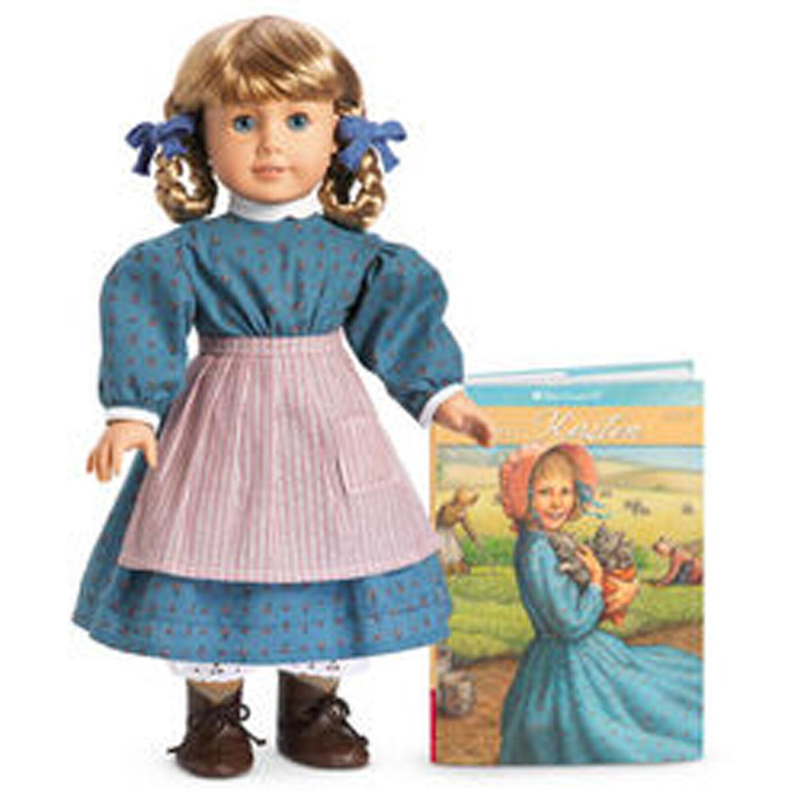 American Girl Doll 29000 en Caja Kirsten y libro de bolsillo