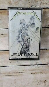 ...And Justice for All by Metallica Cassette 1988  Elektra