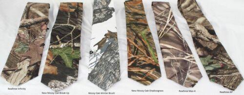 New Mossy Oak Breakup Infinity Max-4 camo Neck tie Winter Branch Shadowgrass