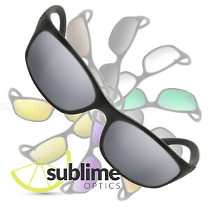 3fc9f12f01 Image is loading POLARIZED-Metallic-Silver-Mirror-Replacement-Lenses-For-Ray -
