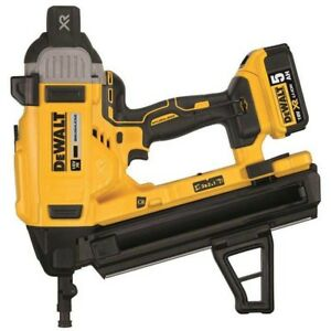 Details About Dewalt Dcn890p2 Gb 18v Cordless Xr Concrete Nailer 2 X 5 0ah Batteries