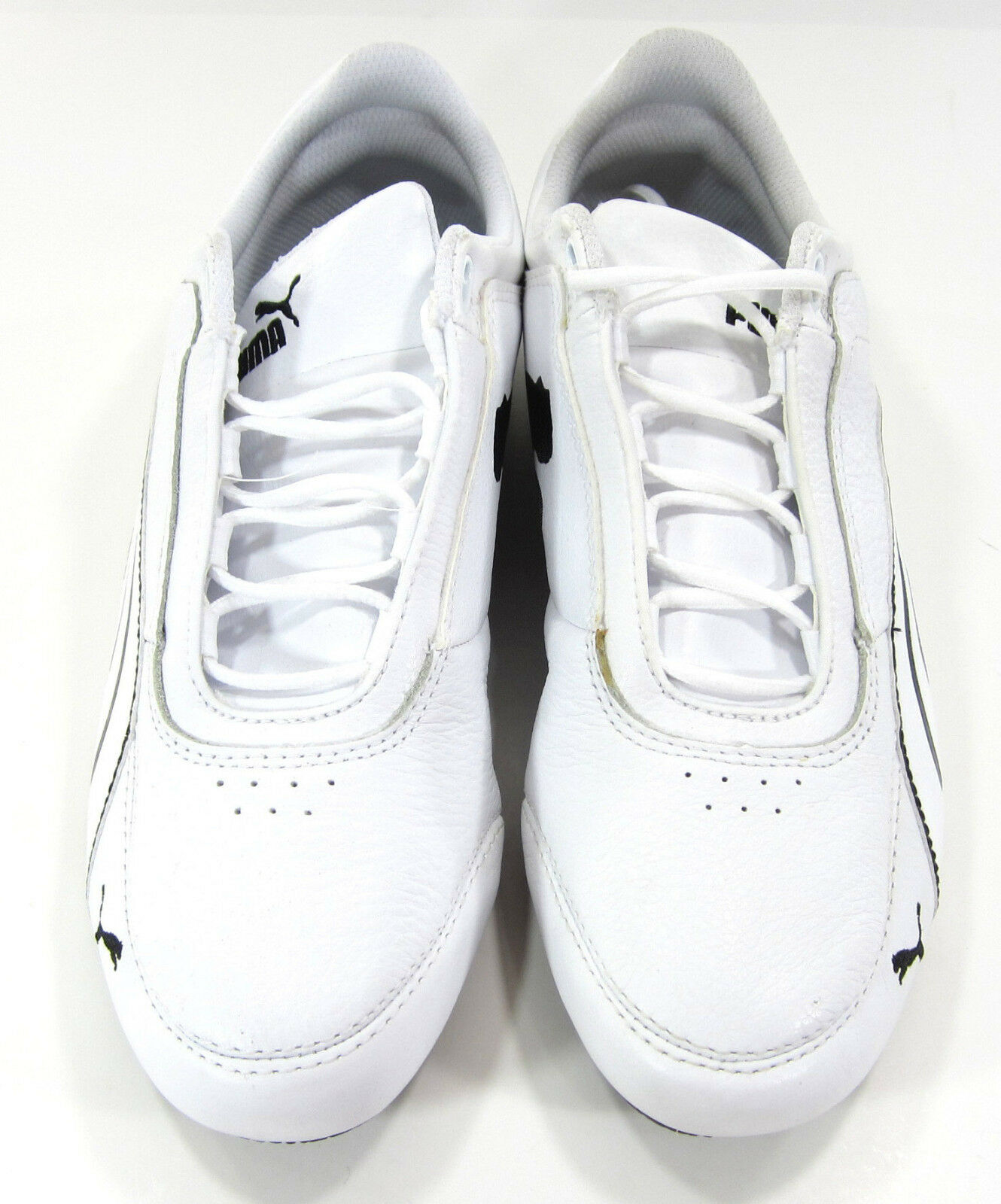 0734479eb ... Puma Shoes Drift Cat IV Leather White Black White Black White Black  Sneakers ...