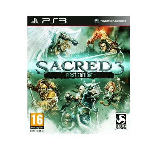 Sacred 3: First Edition [PlayStation 3 PS3, Region Free, Fantasy Action RPG] NEW