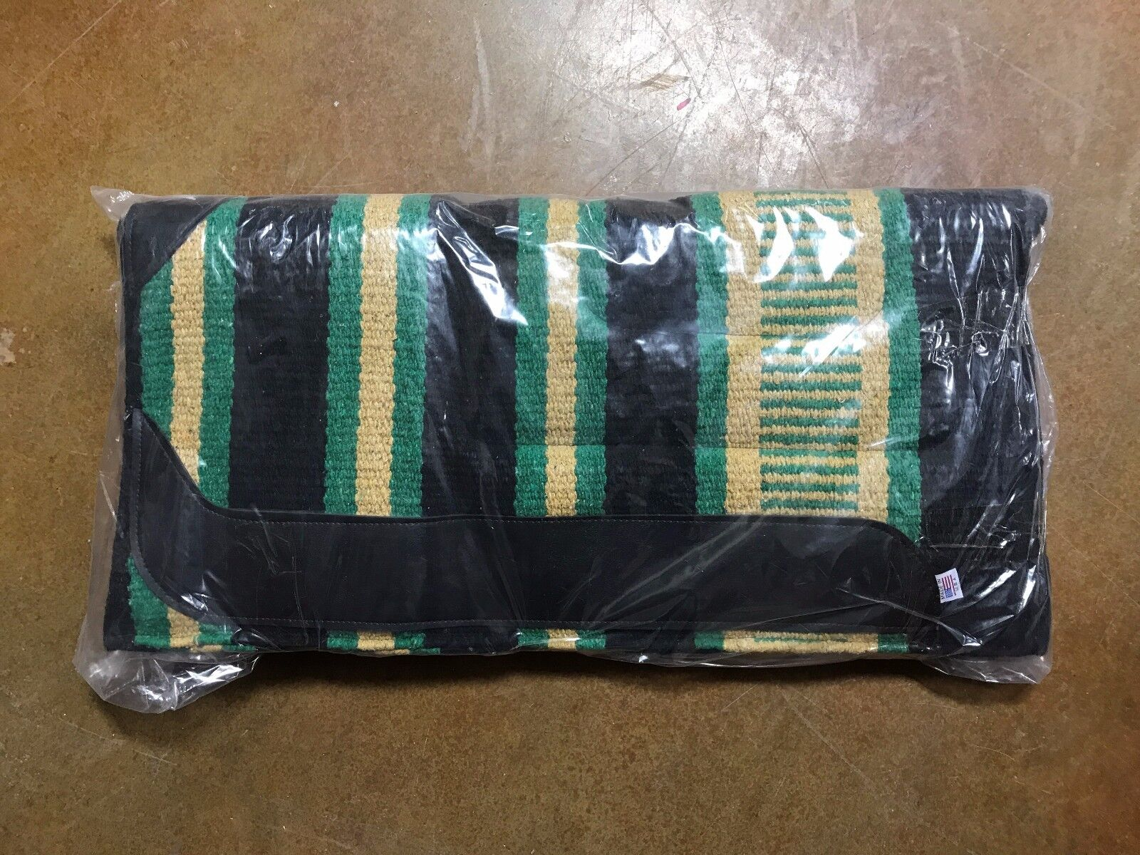 Abetta Roper Saddle Pad Navy, Tan, Green 12227AS