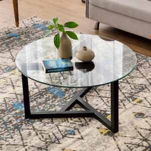 Living Room Modern Side Table Design.Details About Modern Glass Coffee Table Contemporary Modern Design Living Room Furniture