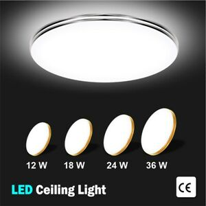 LED-Ceiling-Light-Round-Panel-Down-Lights-Bathroom-Kitchen-Living-Room-Wall-Lamp