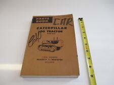 CATERPILLAR D8 TRACTOR PARTS MANUAL HEAVY EQUIPMENT CONSTRUCTION