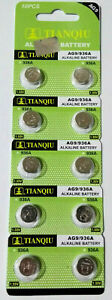 10-Pcs-AG9-LR45-LR936-394-1-5V-Alkaline-Battery-Watch
