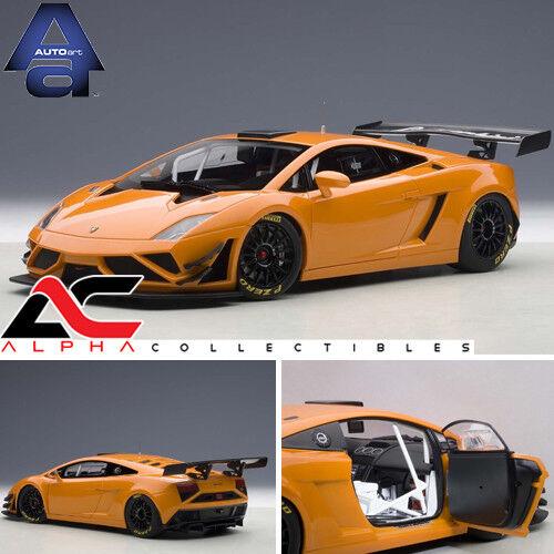 AUTOART 81357 1 18 LAMBORGHINI GALLARDO GT3 FL2 2013 METALLIC Orange SUPERCAR