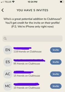 Clubhouse-App-Invite-Invitation-Code-iOS-Only