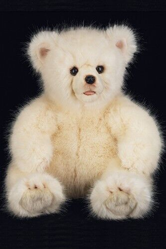 Nuovo ~ Bearington * Winter * 18  Bellissimo Teddy Bear From Wildlife ~ Open Mouth