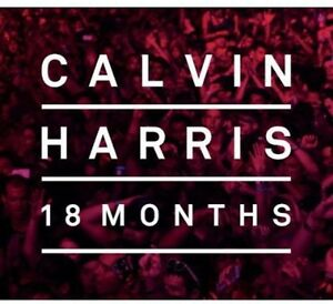 Calvin-Harris-18-Months-Deluxe-Edition-New-CD-Holland-Import