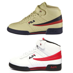 cc38d33bd3fc NEW Men Fila F13 F-13 Mid High Top Basketball Shoes 1VF059LX-275-122 ...
