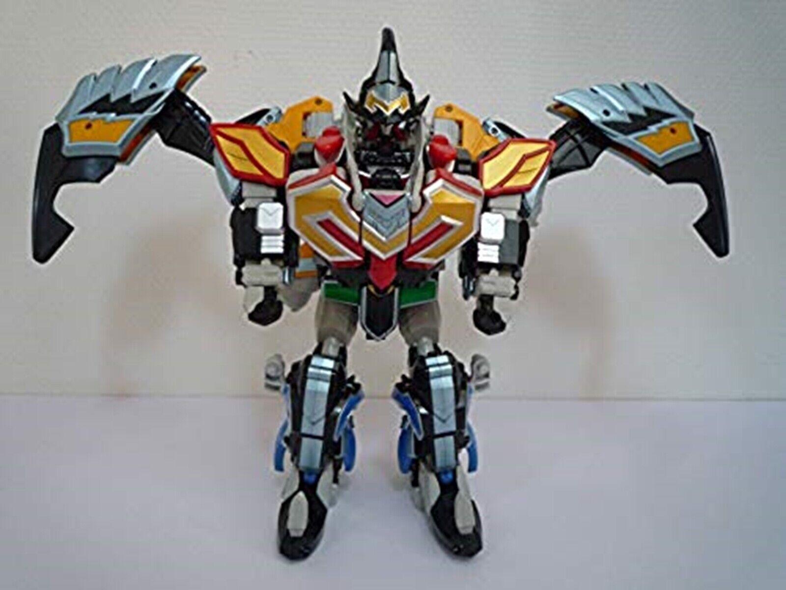 Bandai Power Rangers Mystic Force Dx Titan Megazord MAGIKING Japón utilizó