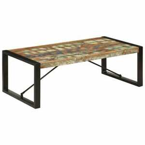 vidaXL-Coffee-Table-120cm-Solid-Reclaimed-Wood-Kitchen-Office-Dinner-Furniture