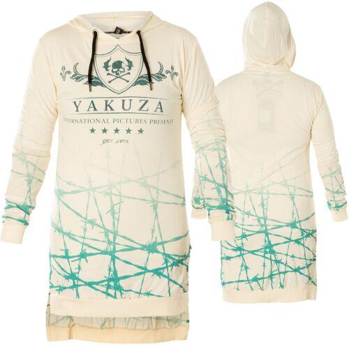 Yakuza Donna Barbwire hooded Camica GLSB 14163 afterglow Wollweiß