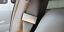 2-Pinces-Ceintures-Voiture-Clip-Universelle-Aspect-Aluminium-Brosse miniature 2