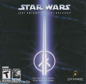 Star-Wars-JEDI-KNIGHT-II-2-JEDI-OUTCAST-Lucas-Arts-Windows-Shooter-PC-Game-NEW