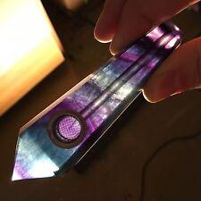 PRETTY Fluorite Quartz Stone Crystal SMOKING PIPE - USA Seller