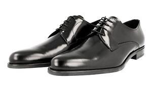 Noir 9 Chaussures Prada 5 43 Nouveaux 2ee146 Luxueux 44 5 tqqTwRA