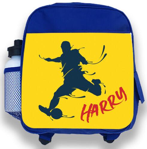 Personnalisé Enfants Sac à dos tout nom Football Garçons Enfants back to school bag 1