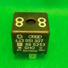 443951307 Original Audi VW Seat Relais Nr 88 443 951 307