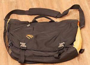 Image Is Loading Rei Messenger Shoulder Bag Staff Logo Computer