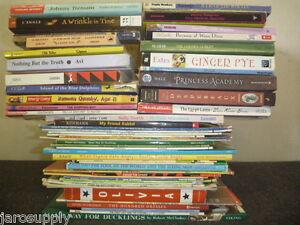 Lot-of-15-Newberry-Caldecott-Winning-Award-AR-RL-Kid-Children-Books-MIX-UNSORTED