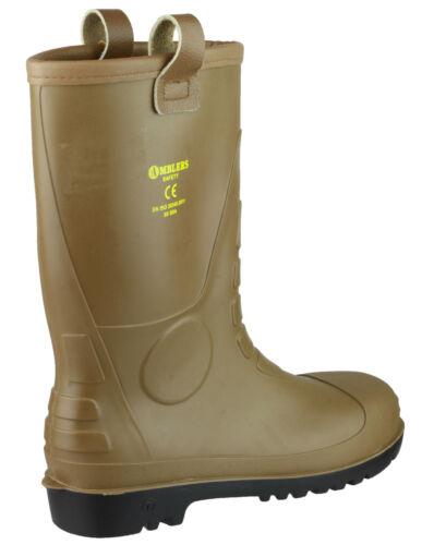 Amblers FS95 Rigger Safety Waterproof Mens Steel Toe Cap Industrial Boots UK4-12