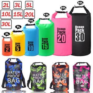 f77697f7d9ae7 Outdoor Reise Kajak Wandern Dry Bag Roll Bag Wasserdichte packsack ...