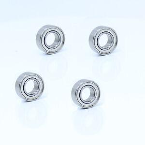687ZZ Deep Groove Ball Bearings 7x14x5mm Double Shielded Chrome Steel P6 10pcs