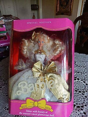 1991 MATTELJEWEL JUBILEE BARBIE Silver & White Dress NEW SPECIAL EDITION# 2366