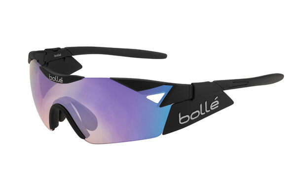 Gafas Bollé 6TH SENSE S black Mate Lente blue-purplea GLASSES BOLLE' 6TH sense