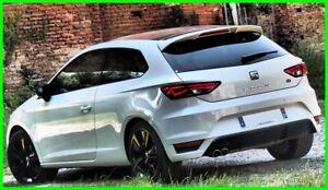 SEAT-Leon-MK3-5F-3-Puerta-Aleron-Trasero-techo-2013-2016