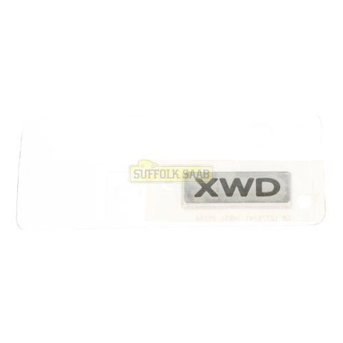 Saab 93 9-3 9440 08-10MY 4D 5D XWD badge emblème 12778741 authentique Rare Suffolk *
