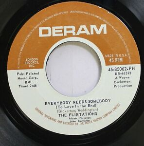 Hear-Northern-Soul-45-The-Flirtations-Everybody-Needs-Somebody-To-Love-In-Th