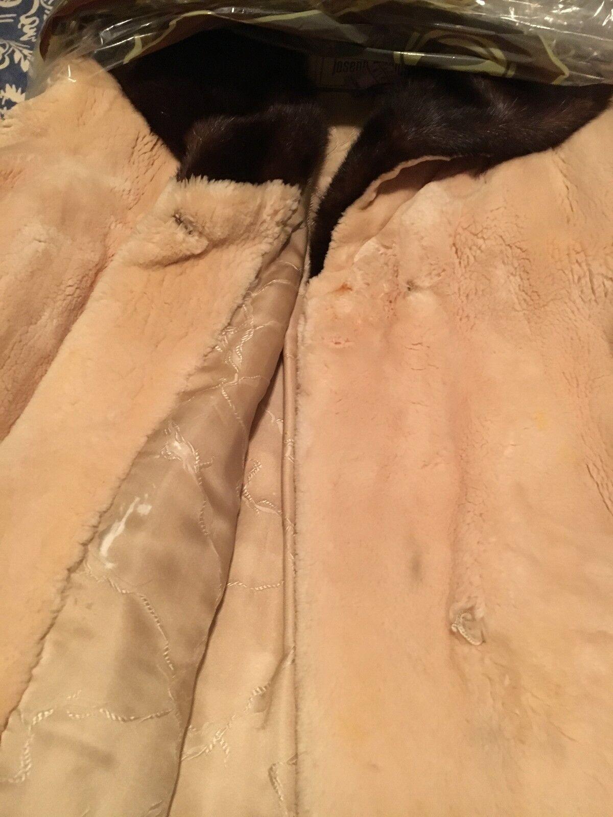 Vintage I Magnin Custom Beaver Coat - image 5