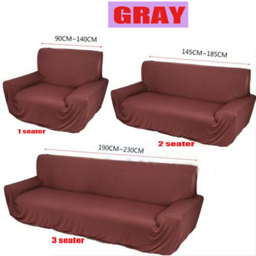 One//Two//Three Seater Stretch Protector Sofa Cover Slipcover Couch Washable