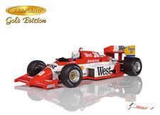 Zakspeed 841 1.5 Turbo F1 GP Belgien 1985 Christian Danner, Raceland Spark 1:18