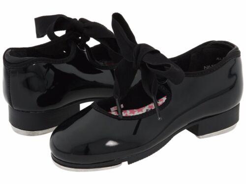 Capezio Black Patent Kids Tap Shoe