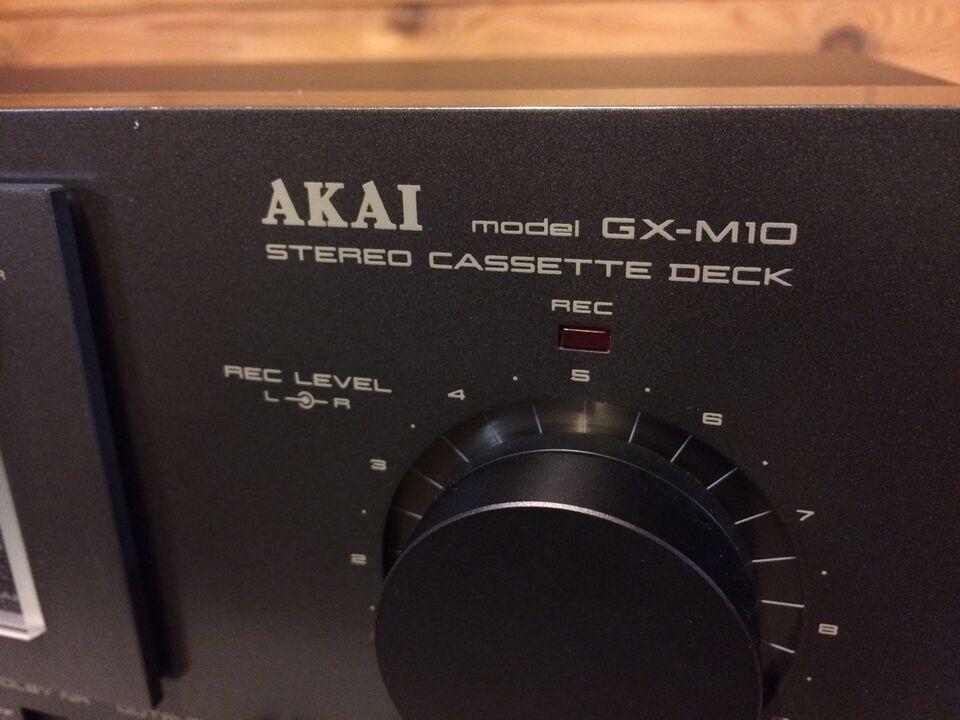 Båndoptager, Akai, GX-M10
