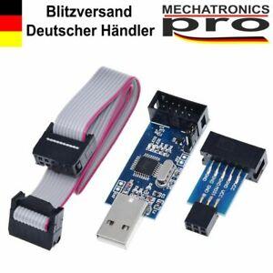 USB-ISP-USBASP-AVR-Programmer-Adapter-Kabel-mit-10-Pin-auf-6-Pin-Arduino