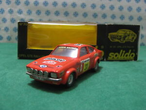 VINTAGE-OPEL-GTE-2700cc-Coupe-Rally-Montecarlo-1-43-SOLIDO-N-70