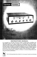 Harman Kardon 250-EPIC Receiver Owners Manual