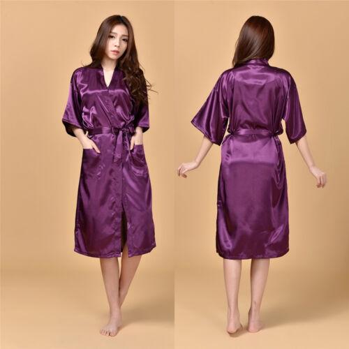 Rayon Robes for Brides Wedding Robe Sleepwear Casual Bathrobe Women Nightgown