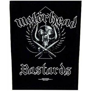 Motorhead-Bastards-Jacket-Back-Patch-Official-Metal-Rock-Band-Merch-New