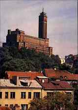 Kaunas Lituania color Postcard postal 1980 edificios vista Building View