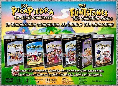 The Flintstones the Complete Series - Los Picapiedra la Serie Completa LATINO