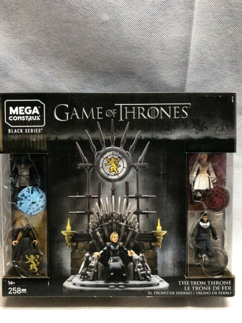 MEGA CONSTRUX BLACK SERIES - GAME OF THRONES THE IRON THRONE SET